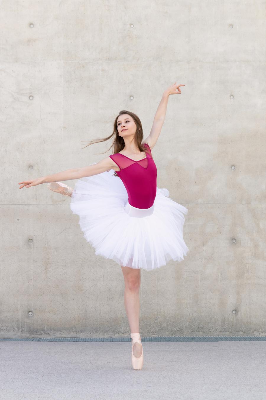 Séance photo de danse classique à Nancy urbaine