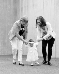 Famille photo trois générations Nancy