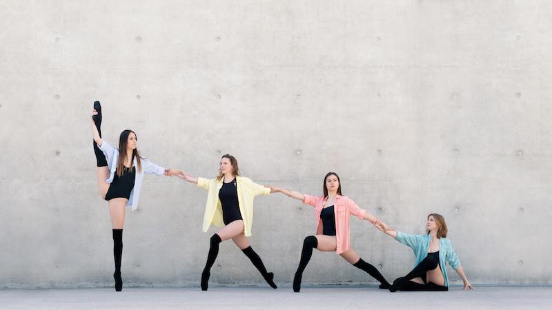 Photo de danseuses école de danse classique Nancy