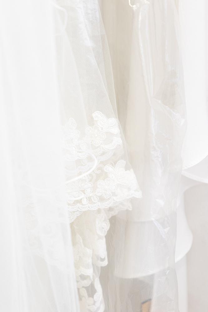 Robe de mariée en dentelle sur mesure à Nancy