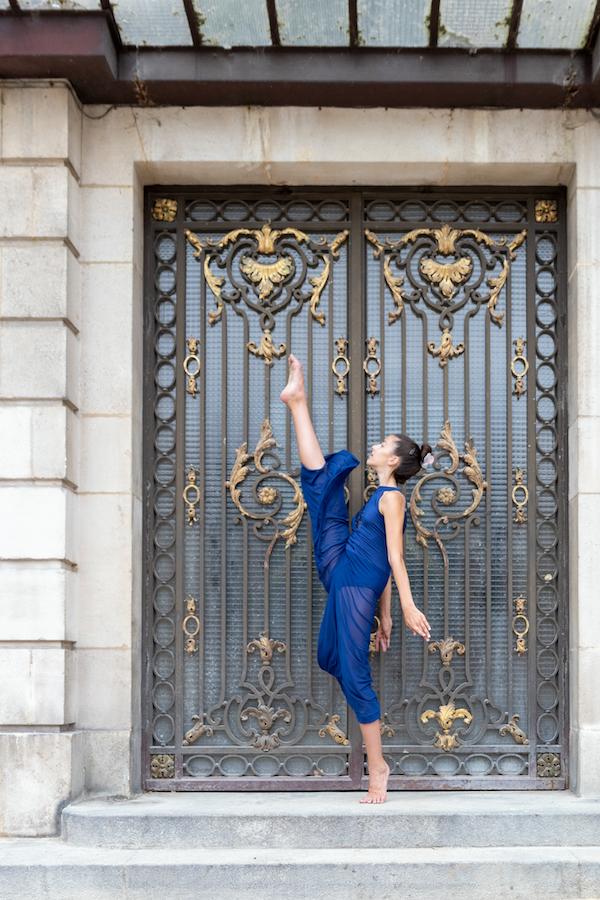 Séance photo danseuse contemporaine à Nancy
