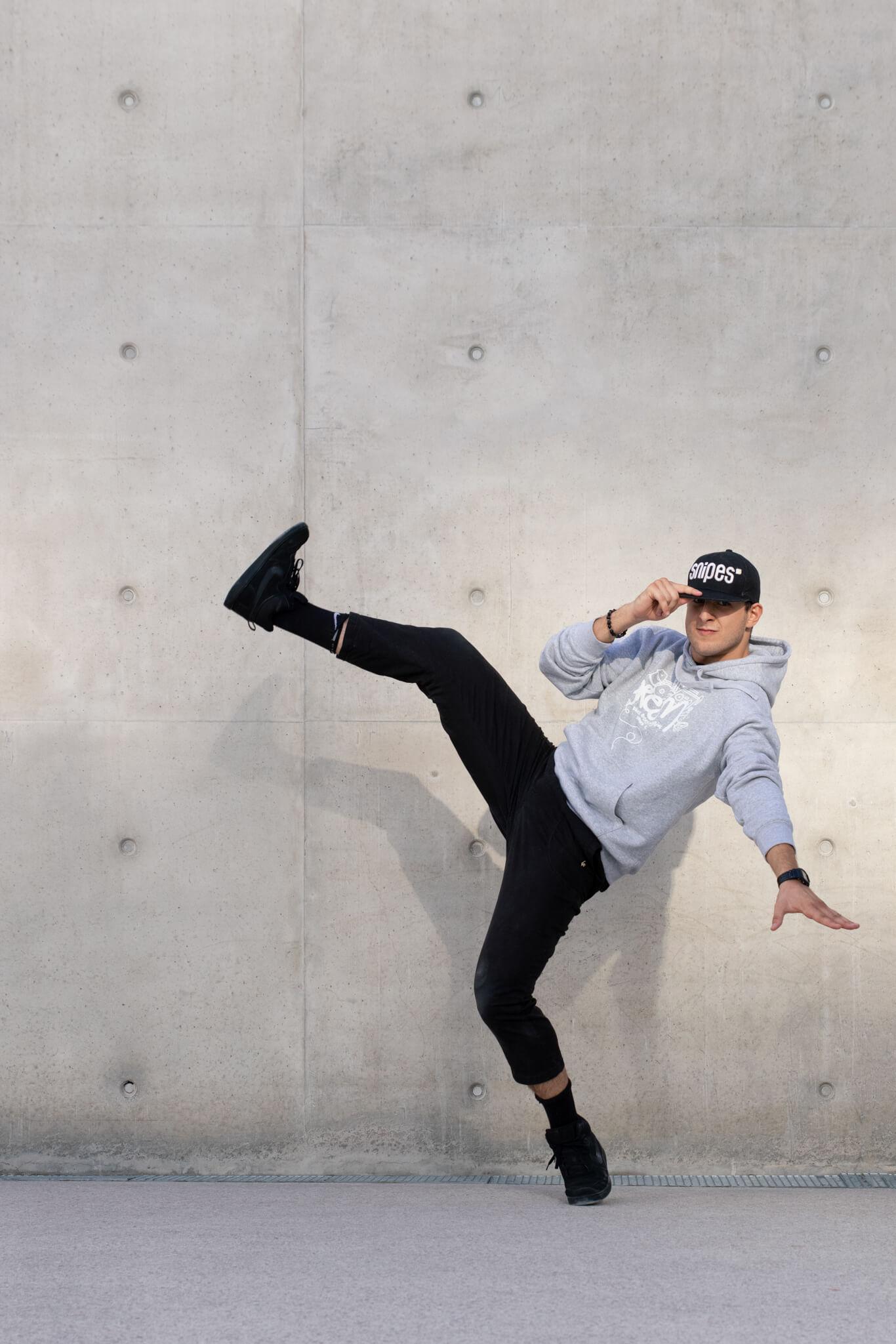 Photo danseur hip hop urbain Nancy