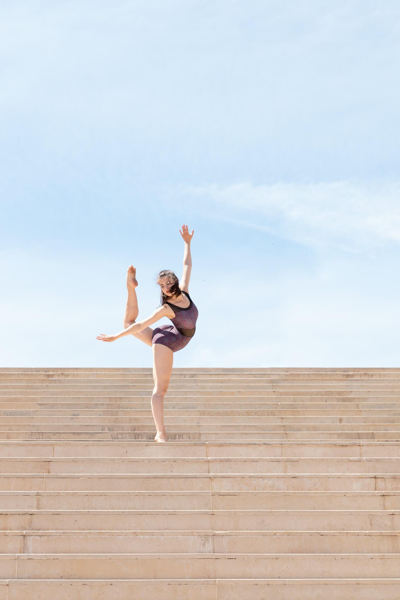 Danseuse contemporaine Metz été photo
