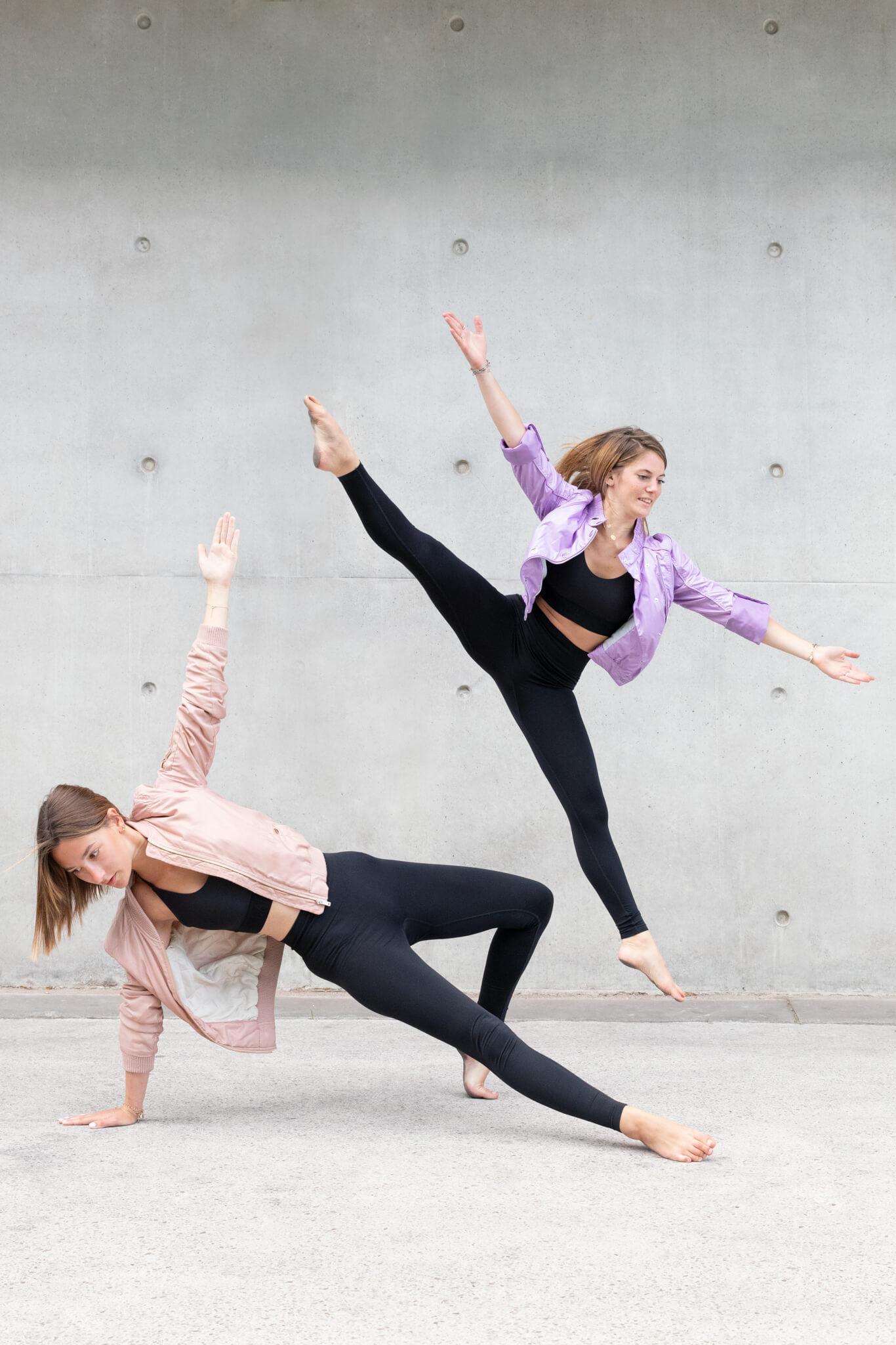 Séance photo amies danseuses contemporaines