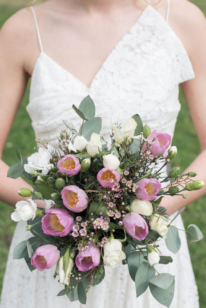Séance photo bouquet de la mariée Lunéville